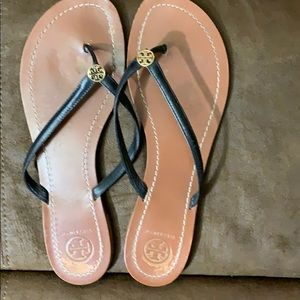 Used size 10 Tory Burch sandals